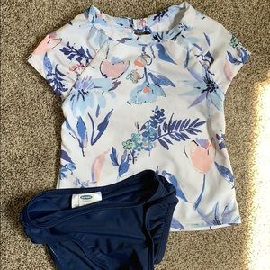Toddler girl old navy swimming suit 18-24 month